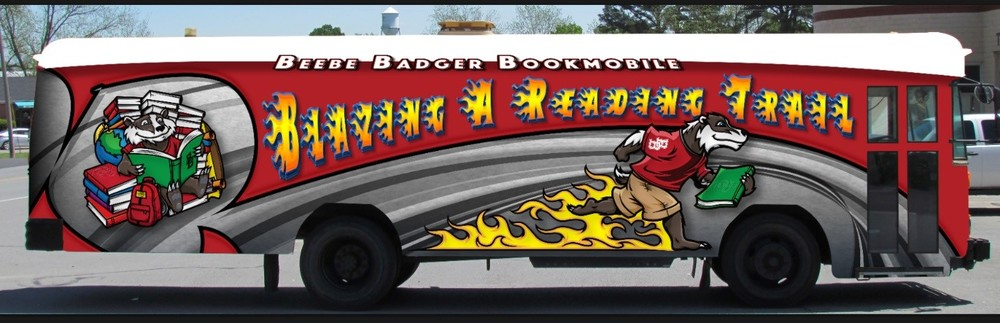 Beebe Badger Bookmobile Summer Schedule