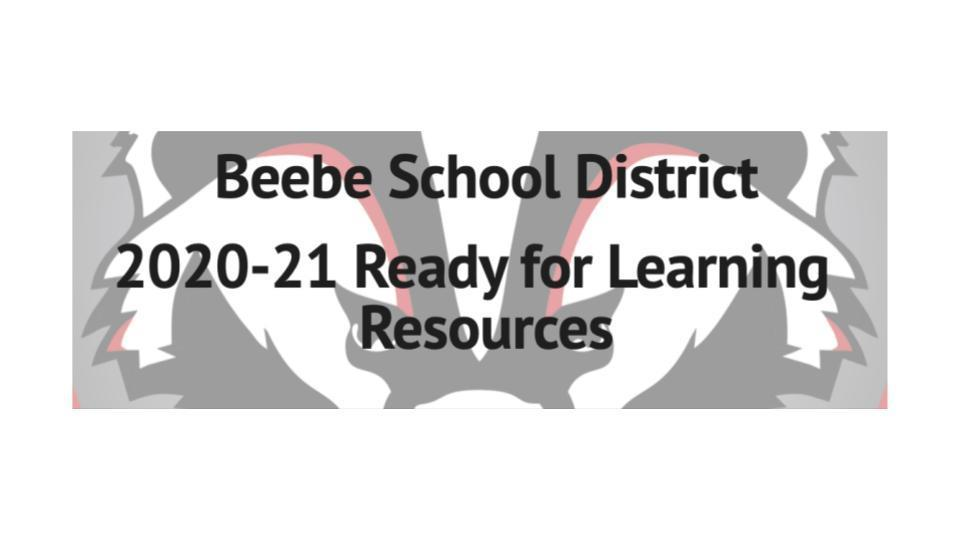 2020-21 Ready for Learning  Resources