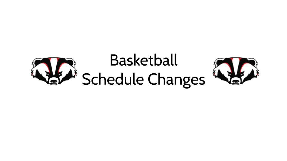 Basketball Schedule Changes