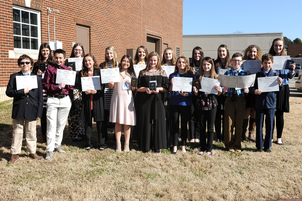 Beebe Jr. High Wins District Competitions for the 10th Year in a Row