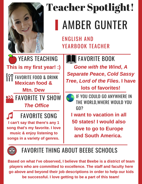 Amber Gunter Spotlight