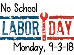 No School-Labor Day