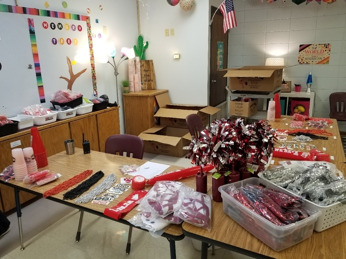 Badger Spirit Store at Beebe Elementary is ready for business!