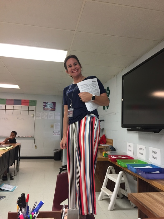 Beebe Middle School Counselor Stands Tall!