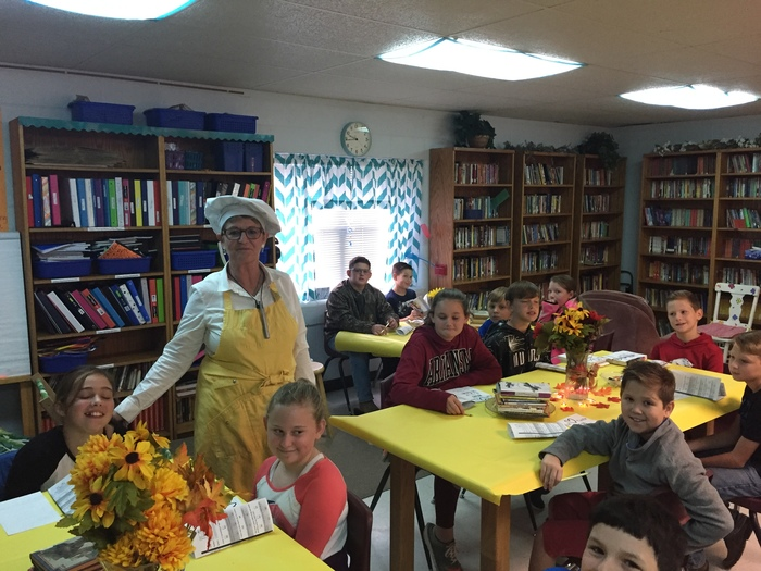 """Chef"" Vaden hosts book tasting!"