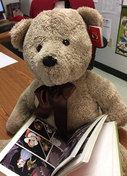 AR Reading Bear belongs to Mr. Belew's Class!