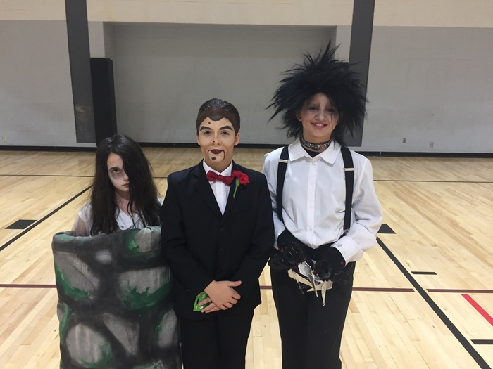 Student Costume Contest Winners