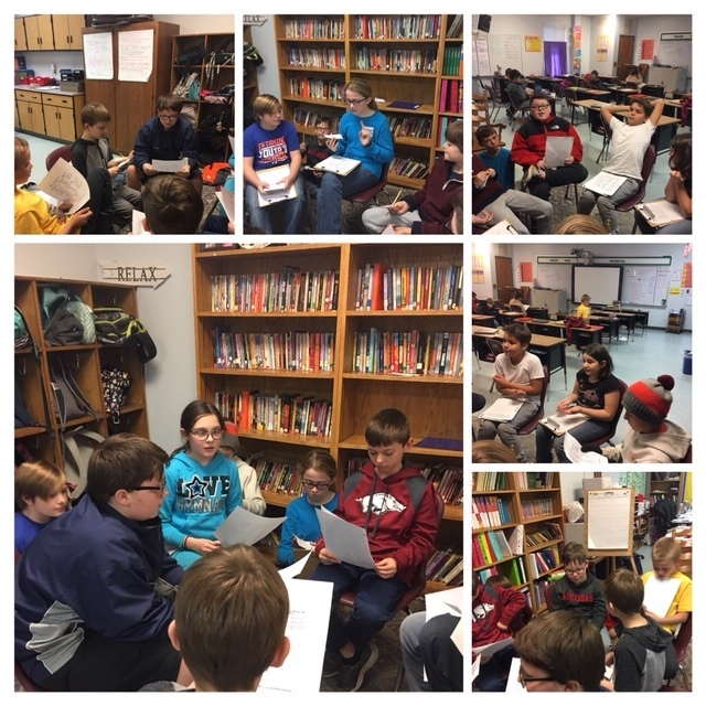 5th grade Socratic Circles