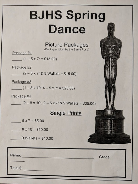 dance photo packages
