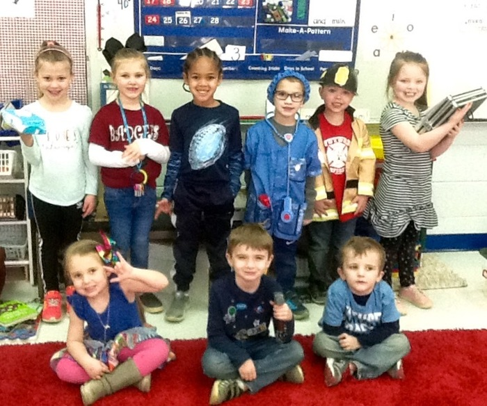 Mrs. Rowell's PreK Students