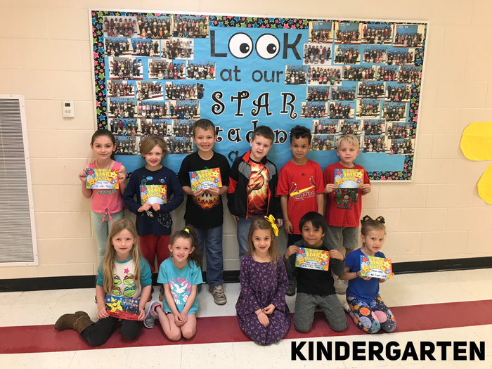 Kindergarten Star Students