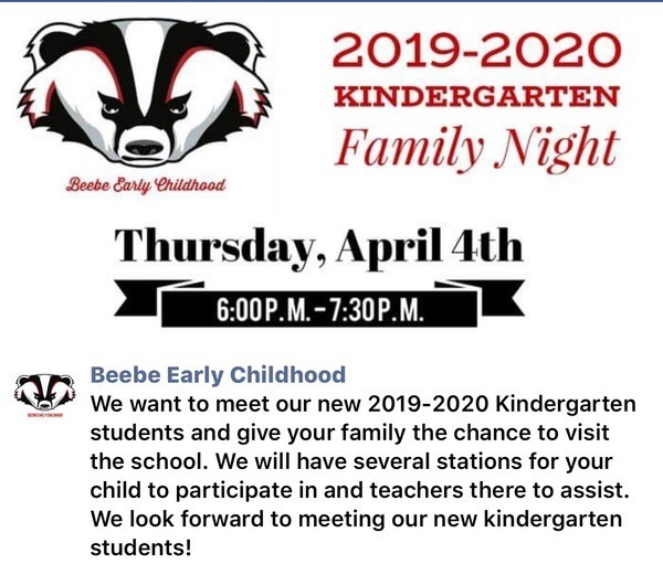 ATTENTION: Current Badger PreK Kiddos and Families!