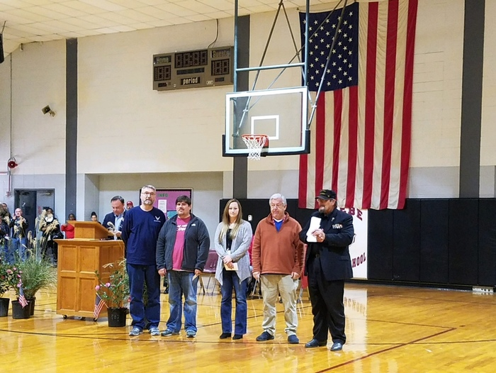 BMS Celebrates Veterans Day