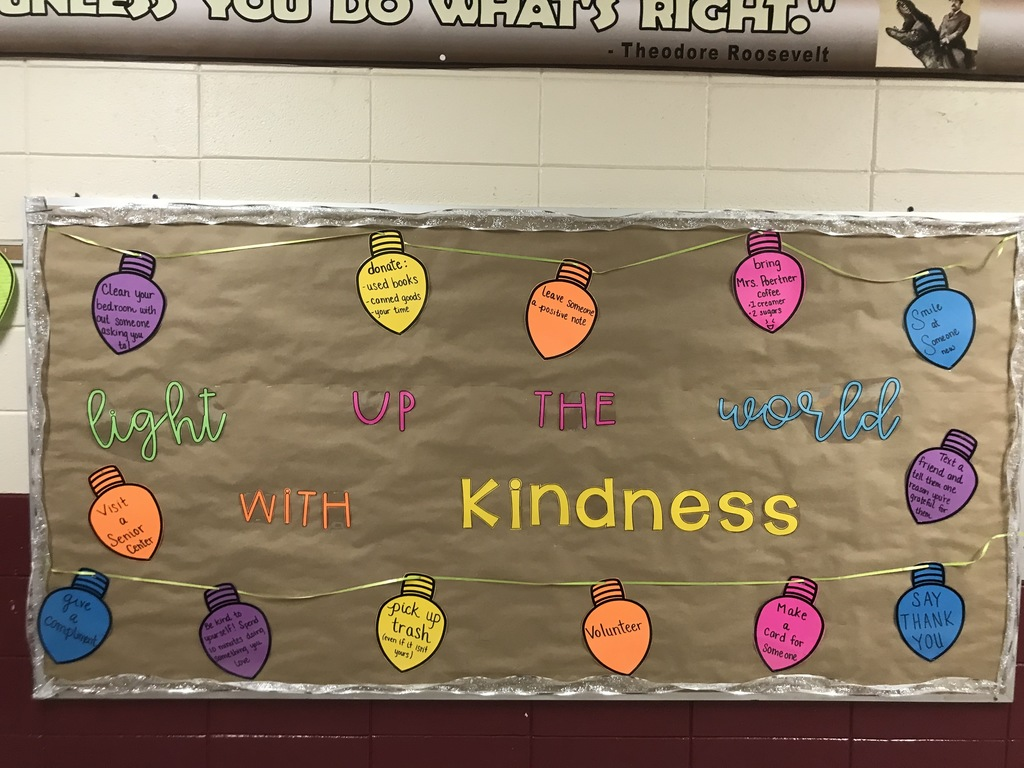 "Poertner ""light up the world with kindness"""