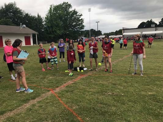 Beebe Badger Students Compete in the Special Olympics