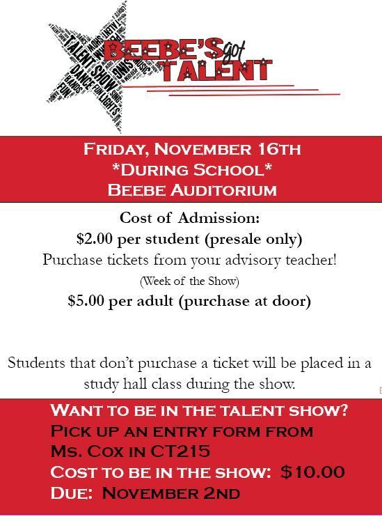 Beebe's Got Talent