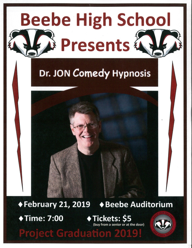 Project Graduation - Comedy Hypnosis Show