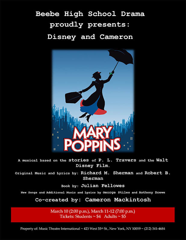 BHS Drama Presents: Mary Poppins